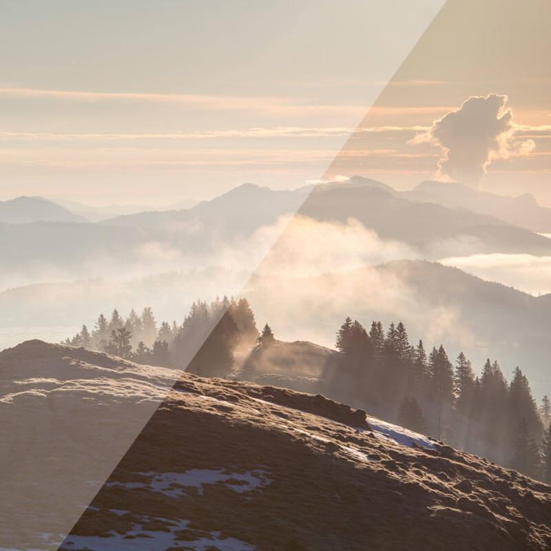 Bergkuppe im Seeland
